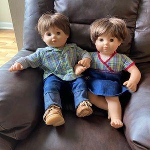 Bitty Baby Twin Boy Dolls